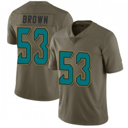 Nike Blair Brown Jacksonville Jaguars Youth Limited Green 2017 Salute to Service Jersey